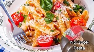 Woman's 'No Cook' Pasta Hack Divides The Internet