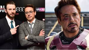 Chris Evans Doesn't Think Anyone Could Play Iron Man Better Than Robert Downey Jr.