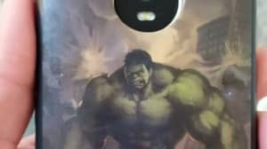 Incredibly Lucky Man Escapes Death After Hulk Phone Case Stops Bullet