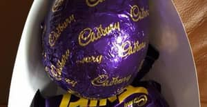 Girl Gets Surprise From 'Cadbury Worker' When She Opens Her Easter Egg