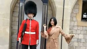 Palace Guard Goes Viral For His 'Reaction' To Woman Dancing Near Him