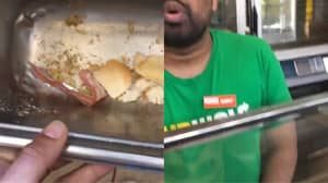 Subway Worker Filmed 'Hiding Evidence' After 'Putting Bacon In Vegetarian Sandwich'