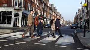 UK's First '3D' Zebra Crossing Appears To Float Above The Road