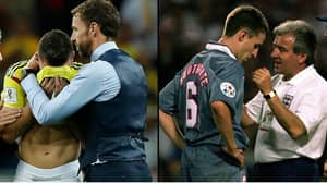 Gareth Southgate Proves He's a LAD By Consoling Colombian Player