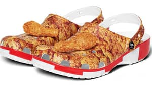 Crocs Is Launching KFC-Themed Clogs With Scented Drumsticks