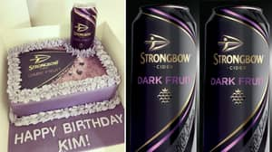 This Cake Is Perfect For Strongbow Dark Fruits Lovers Everywhere
