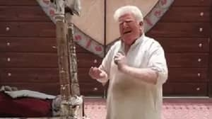 Ice Cream Man In Pakistan Dubbed 'Albino Donald Trump Doppelganger'