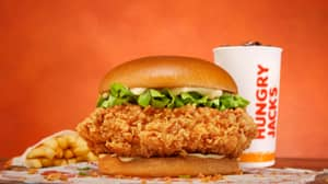 Hungry Jack's Has Launched The Biggest Fried Chicken Burger In Australia