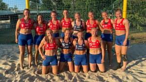 Norway Women's Beach Handball Team Fined For Not Wearing Bikini Bottoms