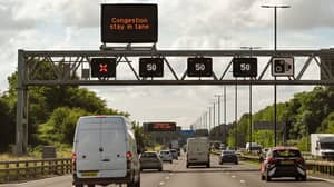 Motorway Drivers Could Face £100 Fine And Three Points For Breaking New Lane Closure Rules