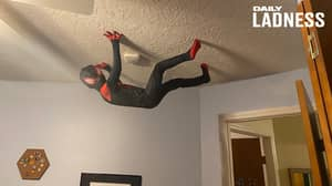 Dad Uses Photoshop To Turn His Son Into Real-Life Spider-Man