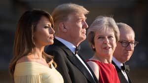 ​Find Someone Who Looks At You The Way Theresa May Looks At Trump