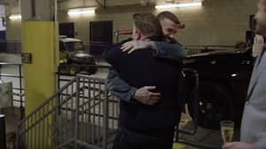 James Corden Pranks David Beckham With Hilarious Sculpture On Late Late Show