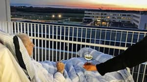 Hospital Shares Moving Image Of A Dying Patient's Final Wish