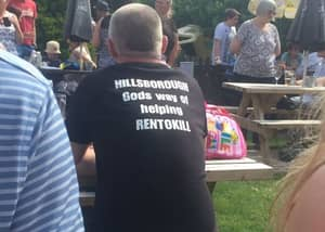 Man Who Wore A T-Shirt Mocking The Hillsborough Tragedy Is Fined