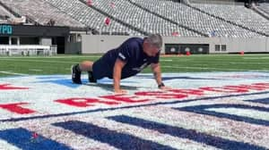 Dad Breaks World Record After Completing 1.5 Million Push Ups