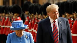 Donald Trump Has Arrived In Windsor To Meet With The Queen
