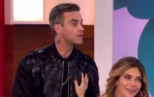 Big Surprise, Robbie Williams' Wife Fakes Orgasm And He 'Isn't Happy'