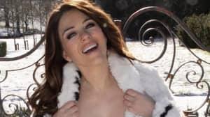 Piers Morgan Brands Liz Hurley's Topless Photo 'Creepy'