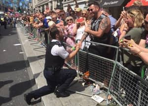 Police Officer Proposed To His Partner During London Pride