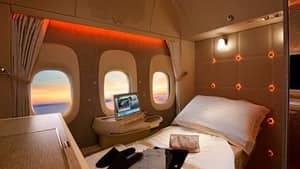 Emirates' Fancy Flights And New First Class Suites Were Inspired By NASA And Look Sick