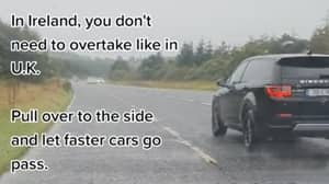 Driving Rule For Overtaking Cars In Ireland Is Different Compared To UK