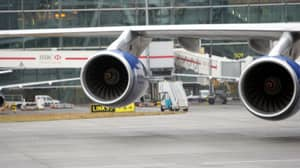 Two People Detained For Throwing Coins Into Plane Engine 'For Luck'