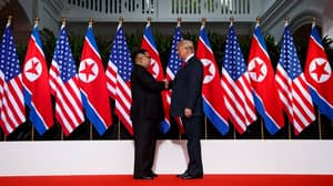 Donald Trump And Kim Jong Un Share Historic Handshake