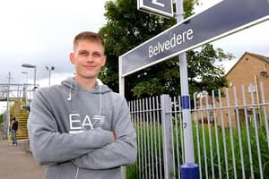 Hero Commuter Saves Woman From Train Tracks While Others Stood By And Just Filmed It