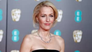 Gillian Anderson Celebrated Her First Emmy Award In 24 Years With A Massive Penis Cake