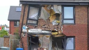 Lorry Driver Deliberately Smashes Into House And Completely Wrecks Building