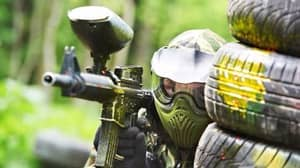 Want A Career Change? Why Not Become A Human Paintball Target?