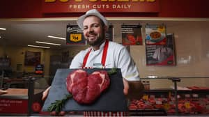 Morrisons Is Selling A Heart-Shaped Steak For Valentine's Day