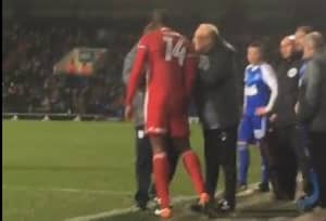Sol Bamba Sent Off After Losing It And Attacking Half The Stadium