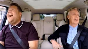 James Corden Tears Up Listening To Paul McCartney Singing 'Let It Be'