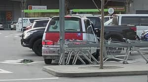 Driver Performs '150-Point Turn' To Leave Parking Space