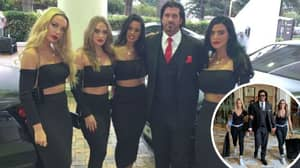This Is How Candyman Spent Valentine's Day With His Wife And Girlfriends