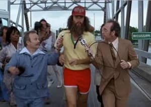 Top Lad Tom Hanks Recreates Iconic 'Forrest Gump' Running Moment