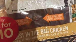 Teenage Girl Finds Testicles Inside Asda Roast Chicken