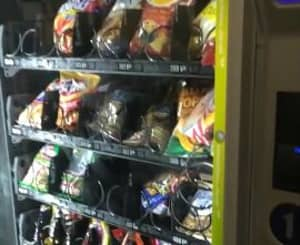 Students Spend Ages Getting The Most From A Vending Machine