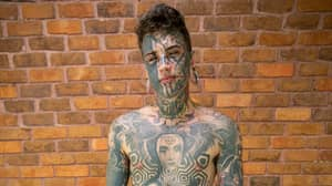 Woman Reacts To Seeing Heavily-Tattooed Boyfriend For First Time Without Ink