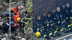 Firefighter Leaves Heartbreaking Tribute To Grenfell Tower Victims