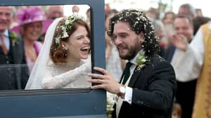 'Game Of Thrones' Stars Pictured At Kit Harington And Rose Leslie's Wedding