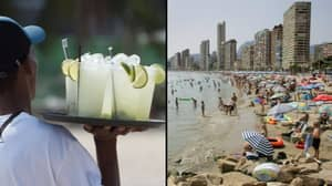 Brits Warned Not To Buy 'Dangerous' Cocktails On Beaches In Benidorm