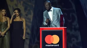 Stormzy Wins Mastercard Album Of The Year At BRIT Awards
