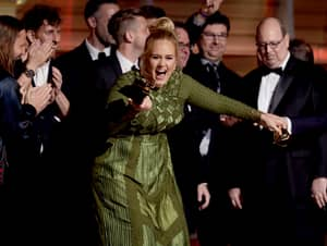 Adele Snapped Her Grammy In Half So She Could Share It With Beyoncé