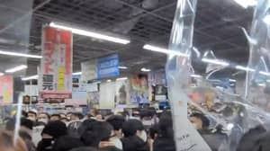 PS5 Event In Tokyo Descends Into Chaos As Shoppers Riot To Get Console