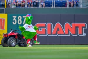Philadelphia Phillies Fan Hit In Face With Hot Dog Shot From Cannon