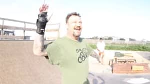 Bam Margera Is Back On A Skateboard And Looking Great