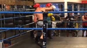 Logan Paul Floors Opponent With Huge Right Hand In Unseen Sparring Footage